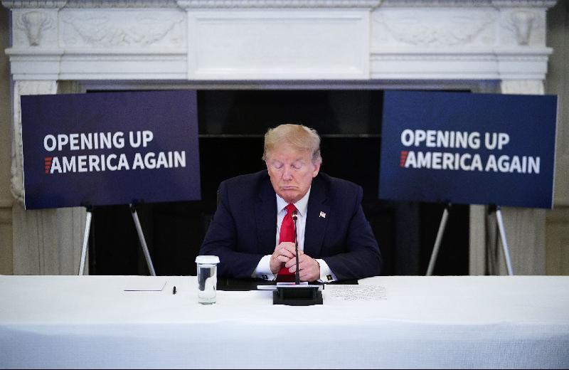 媒体:宣布制裁中国政策‧特朗普转移国内矛盾