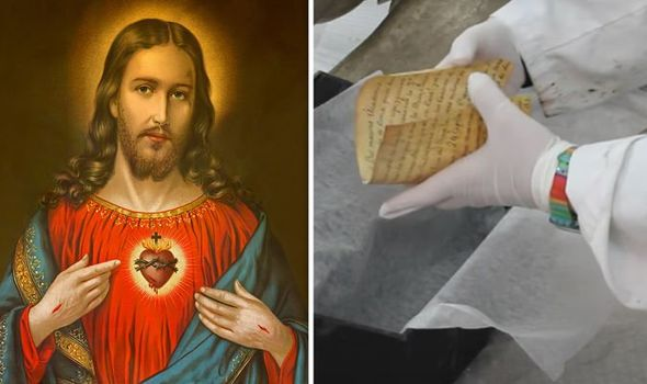 Bible bombshell: Secret 'time capsule' found in Jesus statue during restoration revealed