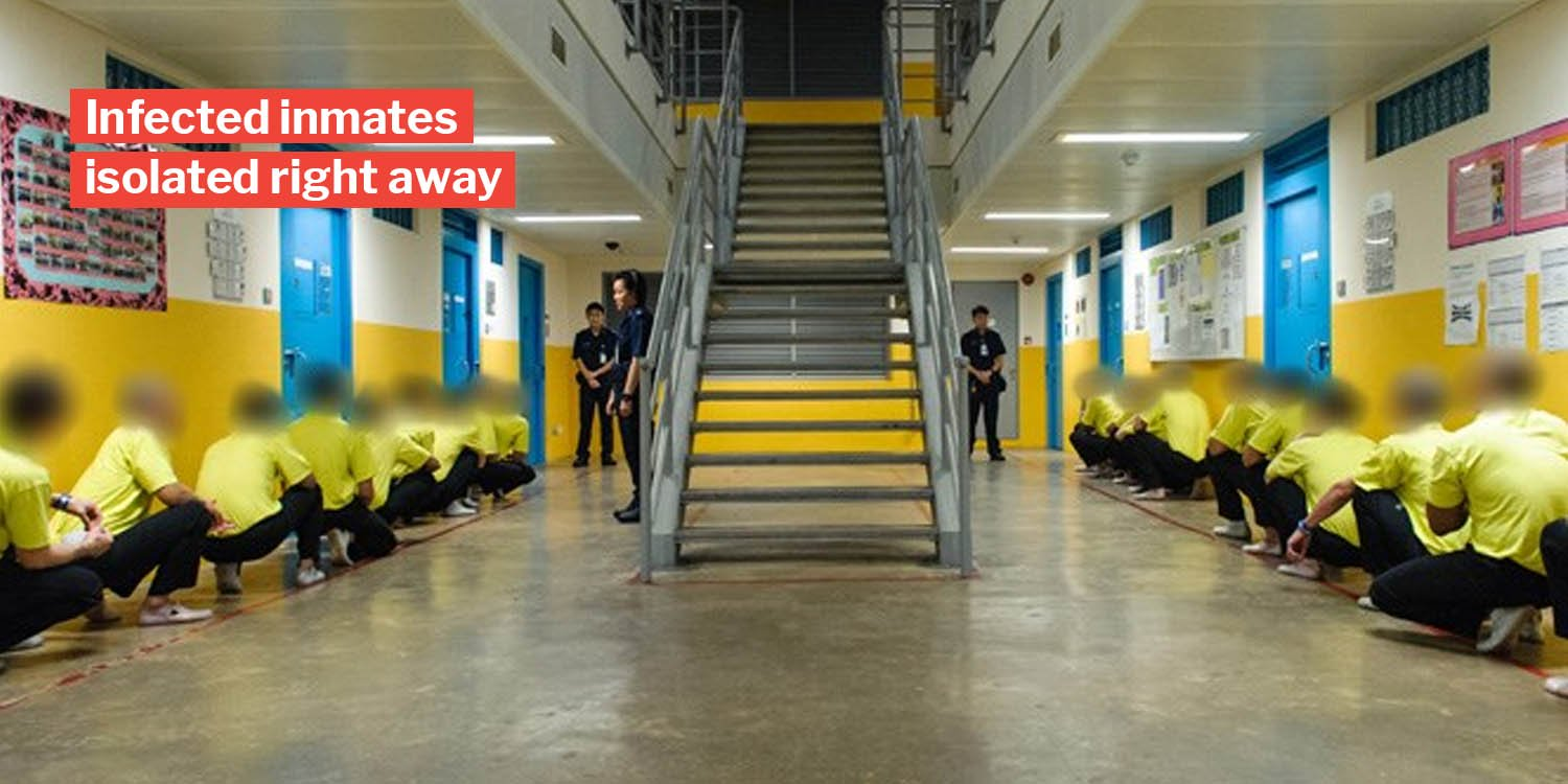 3 New inmates & 1 nurse at changi prison test positive for covid-19, all unlinked to each other