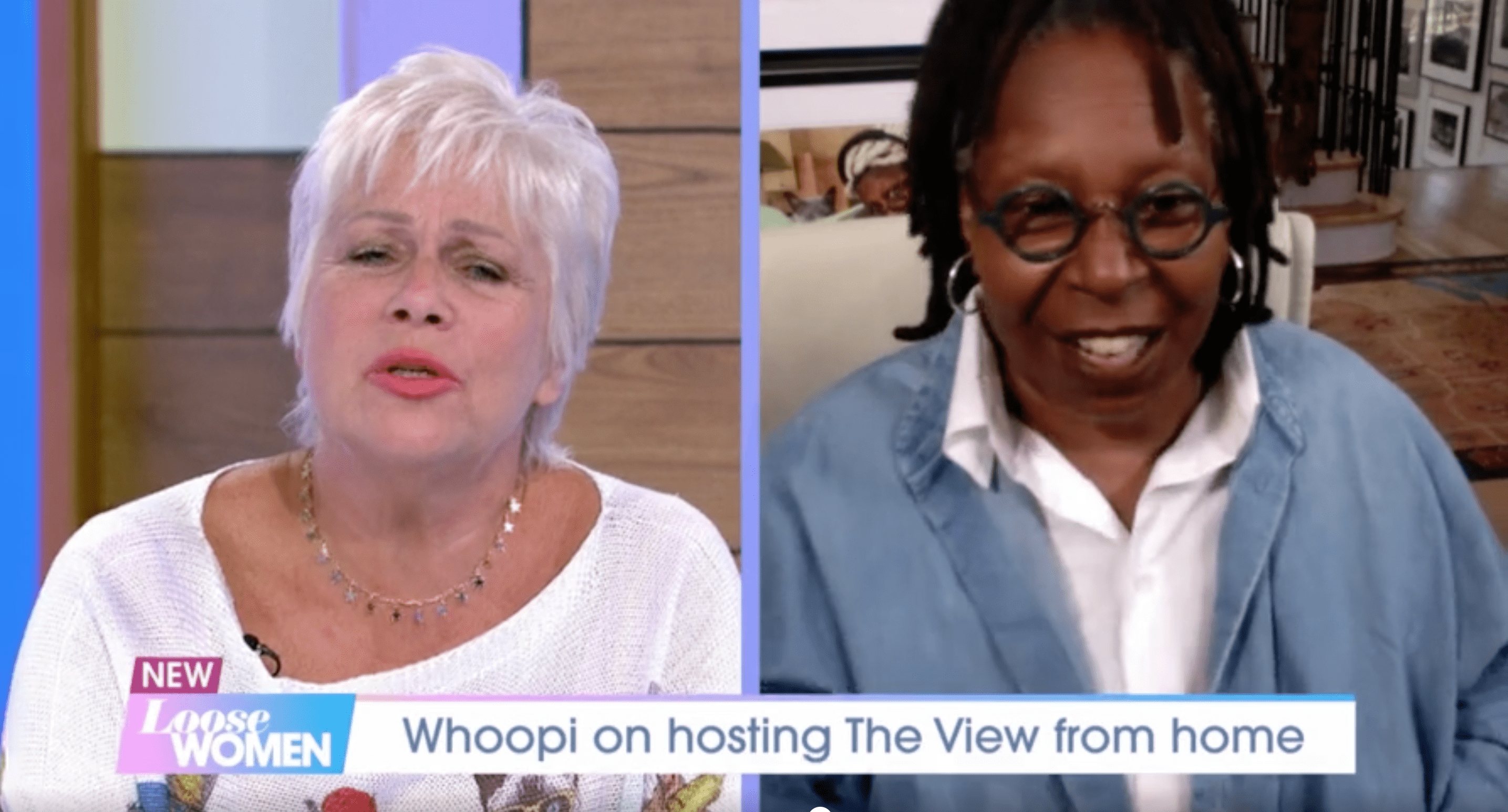 Whoopi Goldberg tells Loose Women she thinks her pneumonia and sepsis ordeal was 'some form of Covid-19'