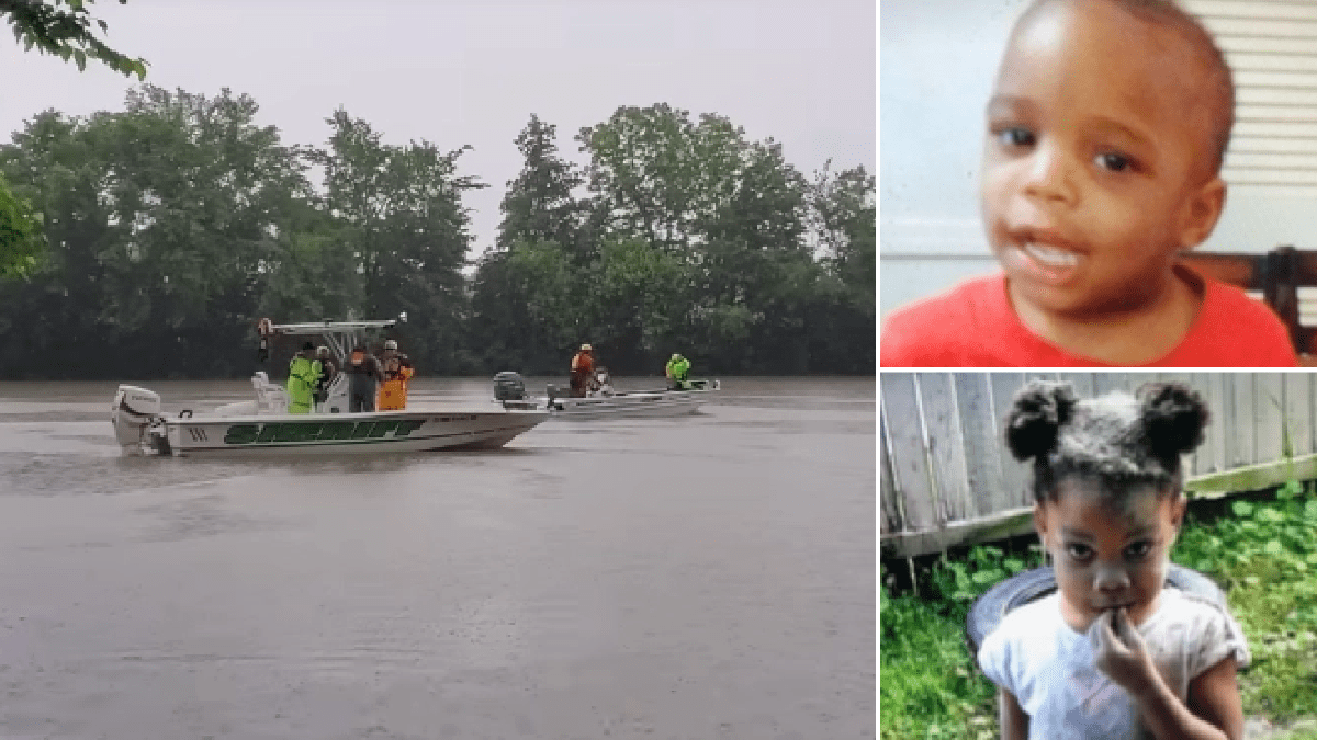 Toddler siblings found dead after wandering off hand-in-hand and falling into river