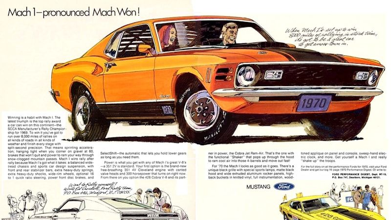 Ford Mustang Mach 1: Time-traveling at the speed of sound