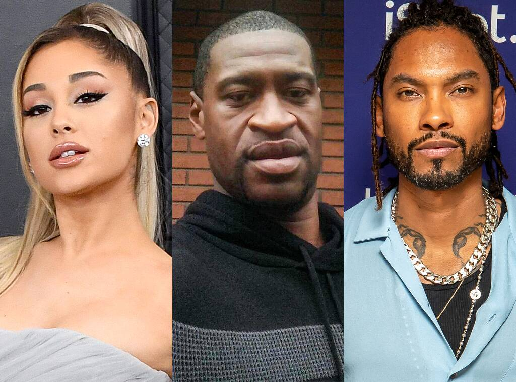 Officer Charged With Murder in George Floyd's Death: Ariana Grande and More Stars React