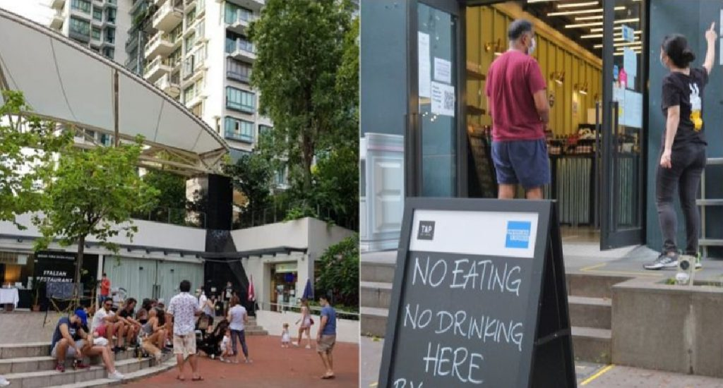 7 People to be charged for gathering at robertson quay