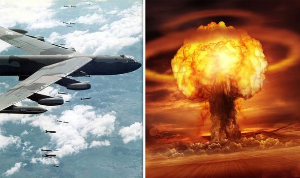 World War 3: How US dropped nuke 1000 times greater than atomic bomb in Air Force blunder