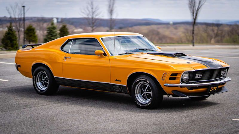 This 1970 Ford Mustang Mach 1's appearance on Bring a Trailer is well-timed