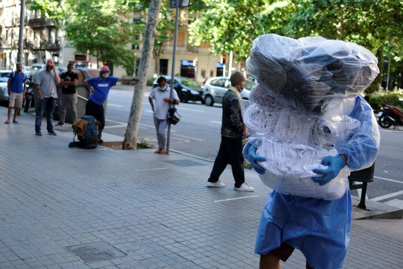 Spain's daily coronavirus death toll drops to a handful
