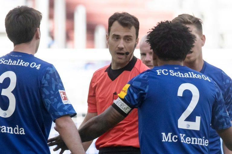 Schalke's US player McKennie slams 'racist' Trump
