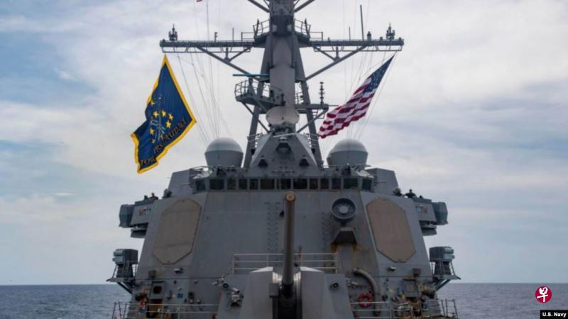 美国海军再派舰艇穿越西沙群岛