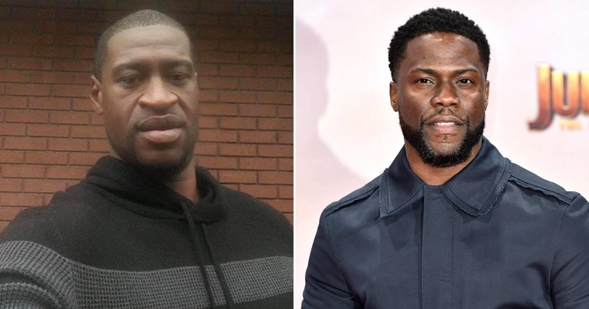 Kevin Hart 'worried about next generation of black men' after George Floyd's death