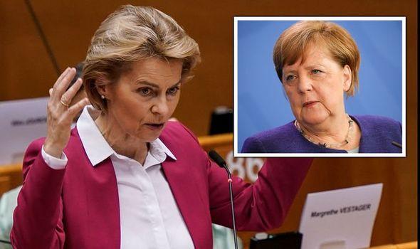 EU showdown looms: Furious Merkel vows 'tough fight' as Germany defies Brussels orders
