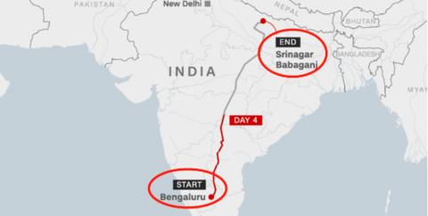 """印度""""封城""""期间,农民工为回家徒步2000公里,用时10天…"""