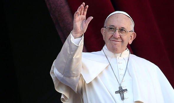 Bible fury: Art showing Pope begging in Milan street 'breaches Ten Commandments'