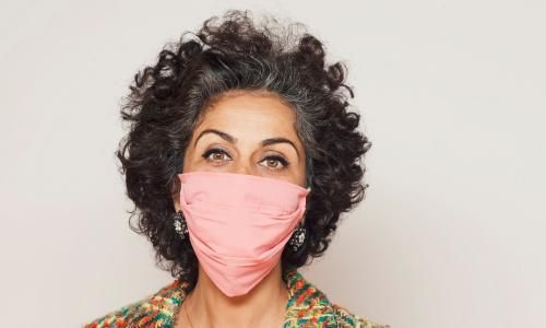 The eyes have it: communication and face masks