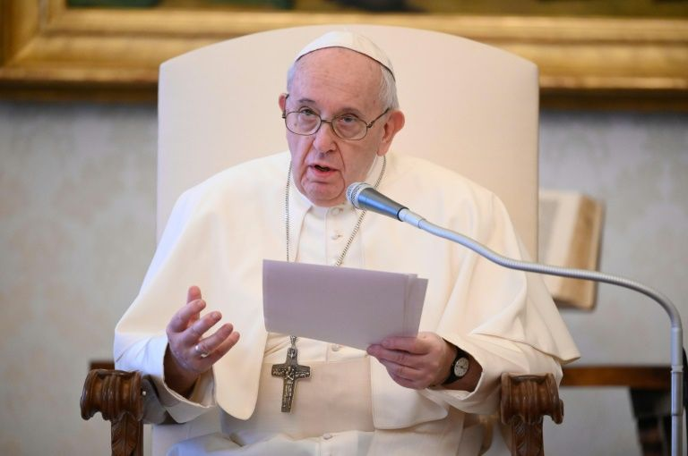 Pope calls for end to 'pandemic of poverty' after virus