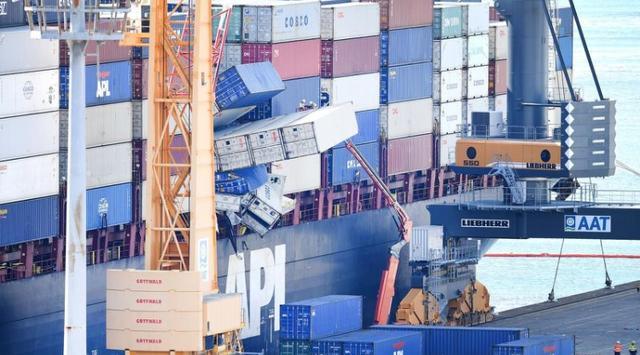 集装箱掉落海中事故货船被澳洲海事局起诉