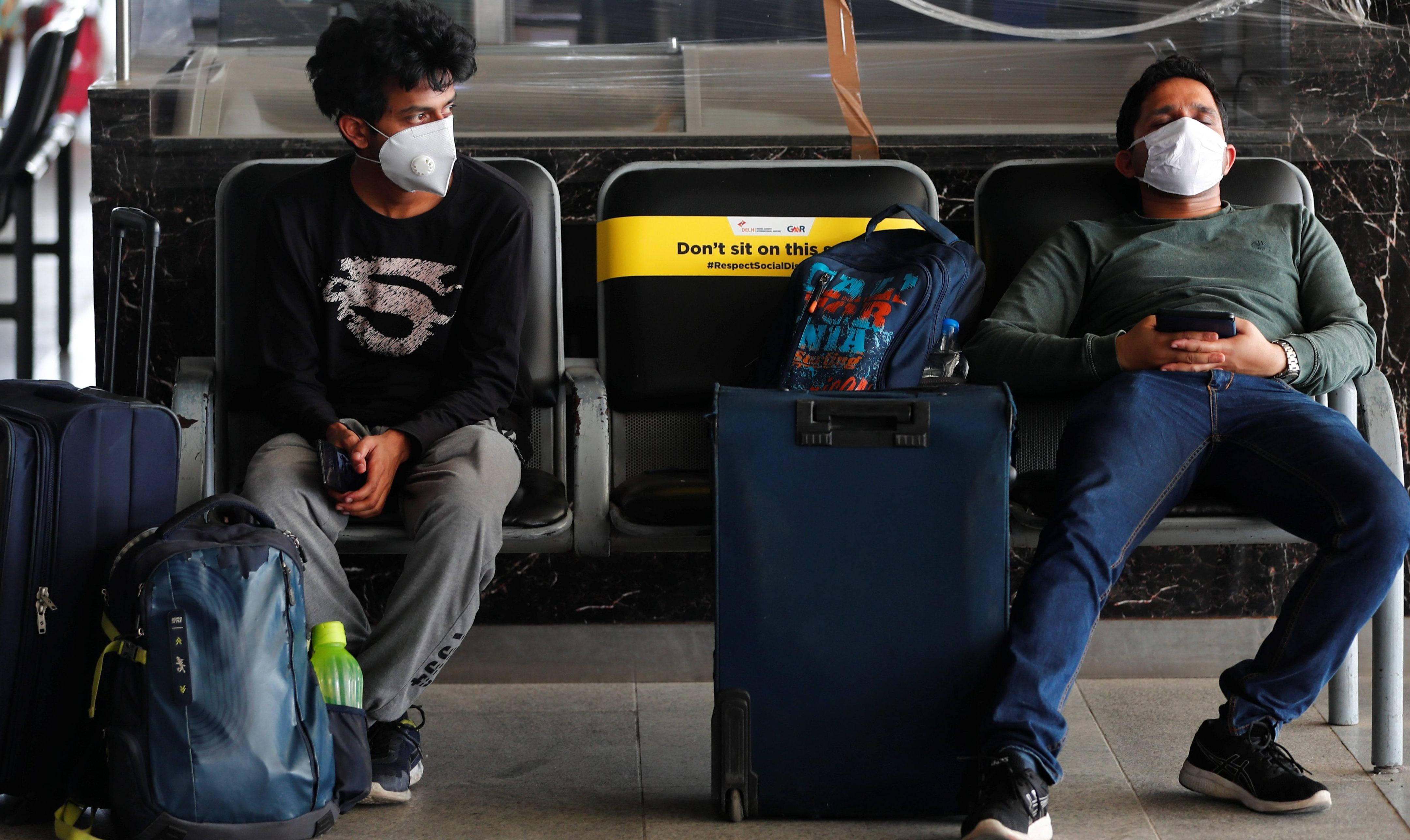 Air travel in India is risky during the pandemic, but it's still the safest