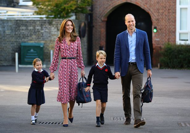 Kate and William refuse to say if they will keep Charlotte home as schools reopen