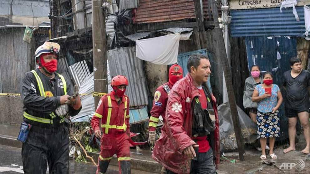 Tropical storm Amanda leaves 9 dead in El Salvador