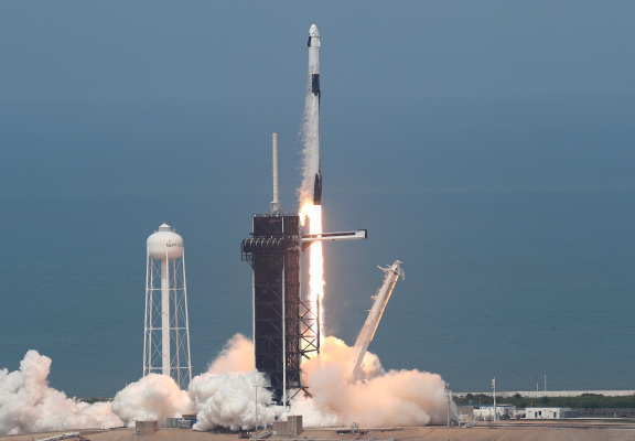 Daily Crunch: SpaceX's crewed spacecraft successfully launches and docks