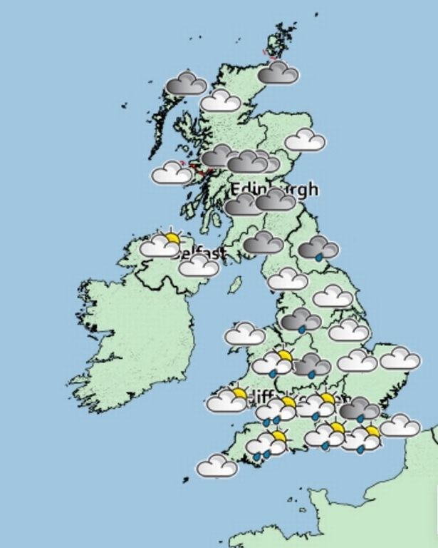 UK weather: Highs of 29C before 10C drop and thunderstorms risk ruining heatwave