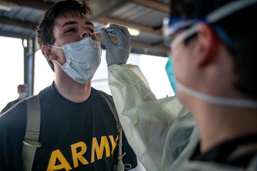 美国两大新兵基地200多人出现感染 数字高到让美军破例公开