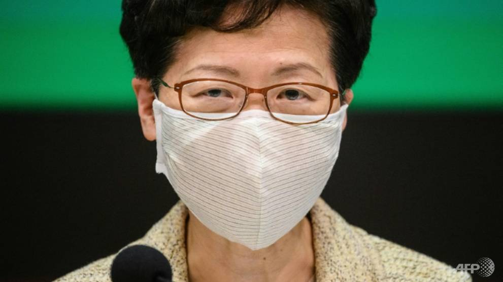 Hong Kong leader Carrie Lam accuses US of 'double standards' over protests