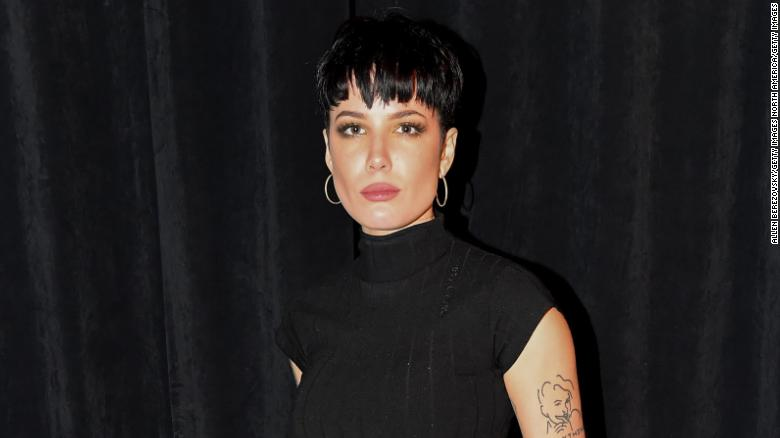Halsey opens up about her experiences protesting over the weekend