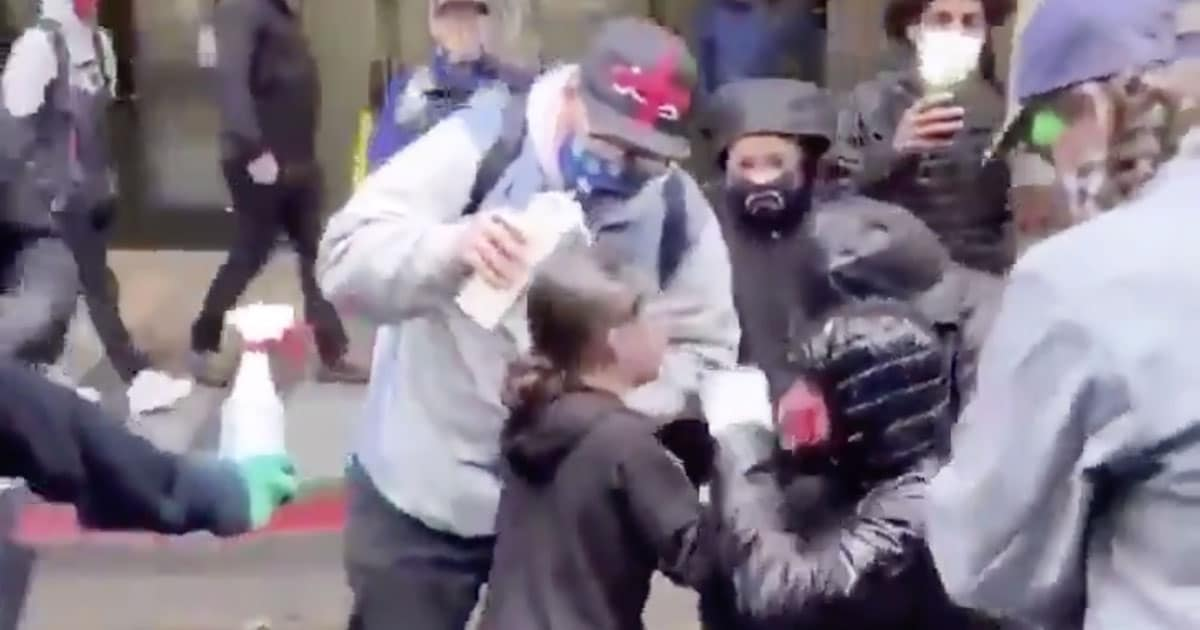 Seattle Police Investigate Claims That A Cop Maced A Child During Protests