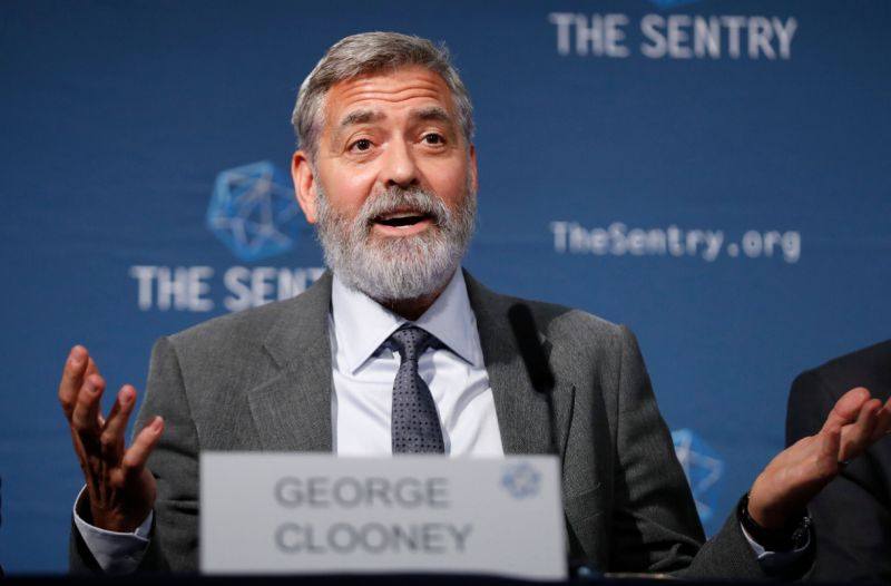 George clooney: racism is our pandemic and in 400 years we've yet to find a vaccine