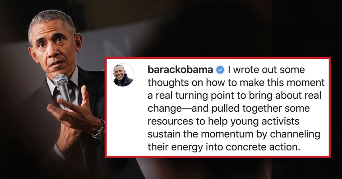 Barack Obama Just Shared A Powerful Call To Action