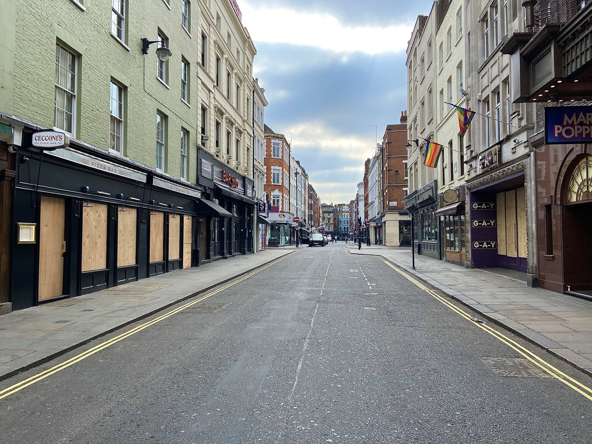 Large parts of London could be pedestrianised to help pubs and bars survive