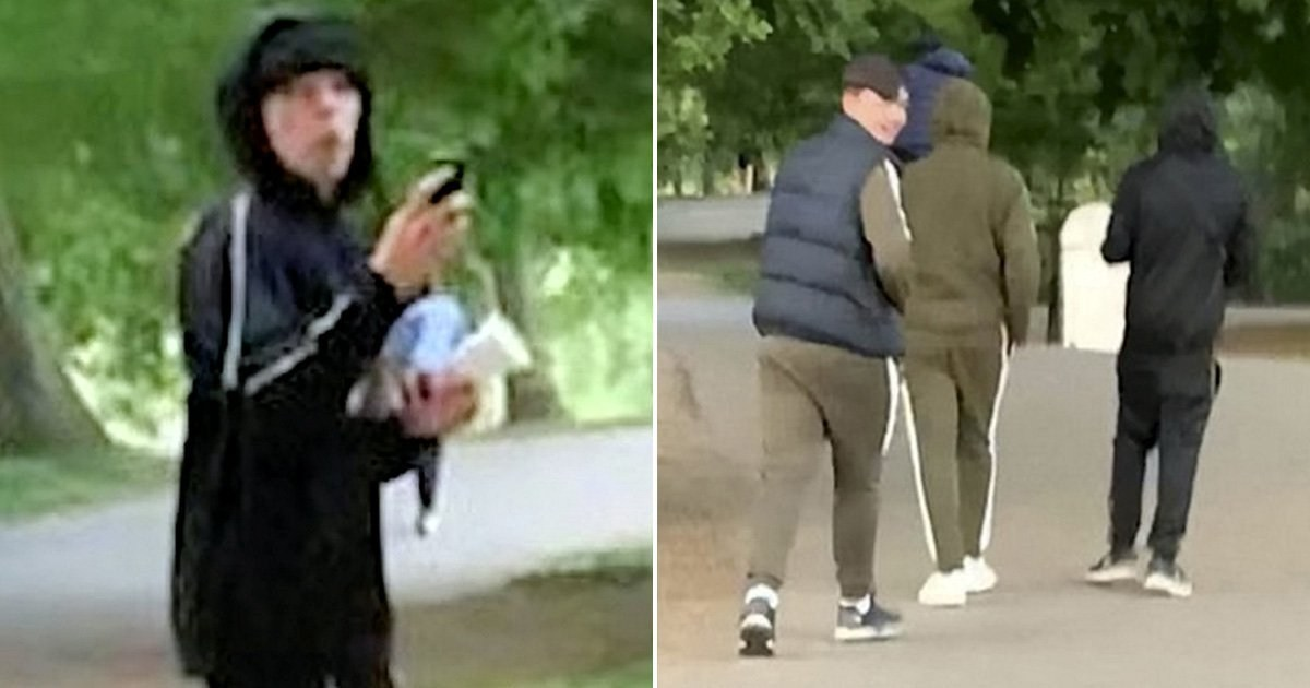 Manhunt for four white men who racially abused black woman in Hampstead Heath