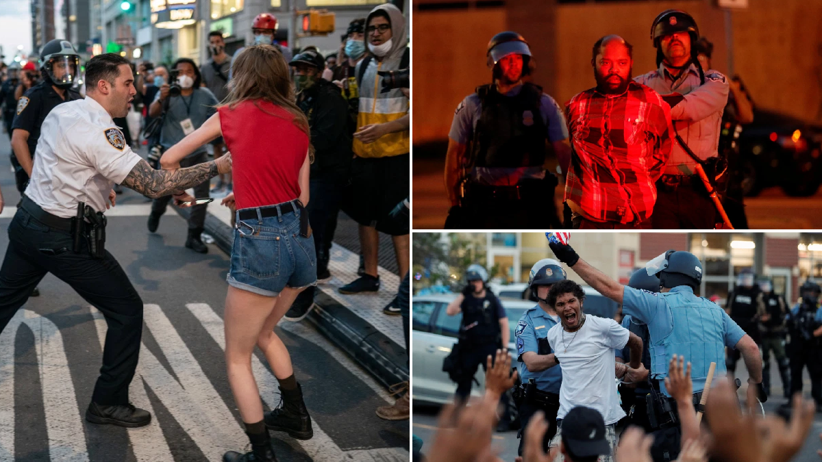 More than 4,400 people arrested in protests demanding justice for George Floyd's death