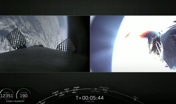 SpaceX video: Bizarre 'anomaly' spotted during Falcon 9 first-stage entry revealed