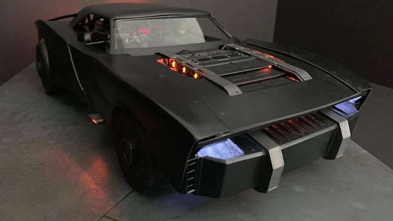 New Batmobile seen clearly in model images