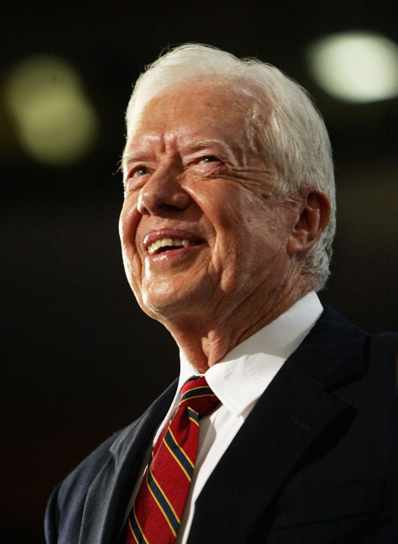 Jimmy carter: powerful people must say 'no more' to racist justice system