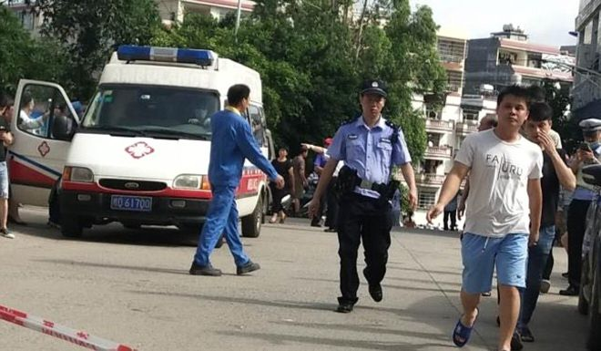 39 Children, staff hurt in knife attack at south China primary school
