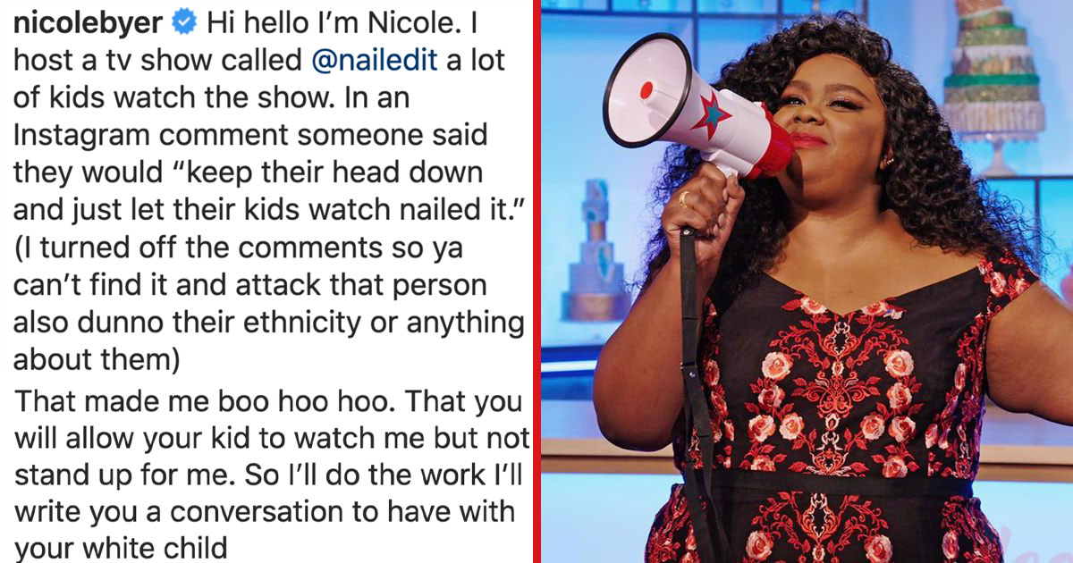 'Nailed It' Host Shares How To Talk To Kids About #BlackLivesMatter