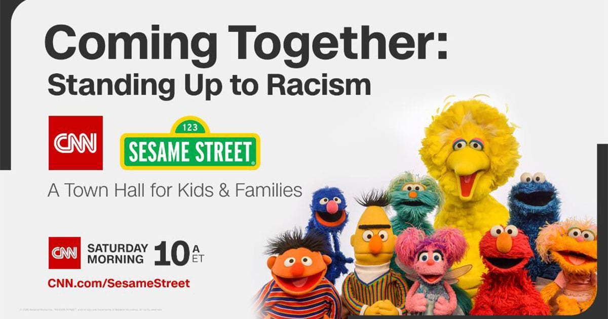 CNN And Sesame Street Will Host A Town Hall Addressing Racism