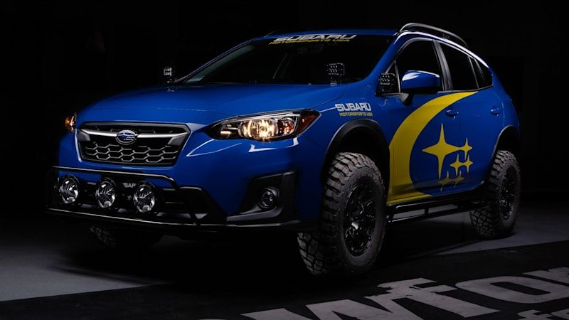 Subaru Crosstrek gets an injection of Baja racer DNA from Crawford Performance