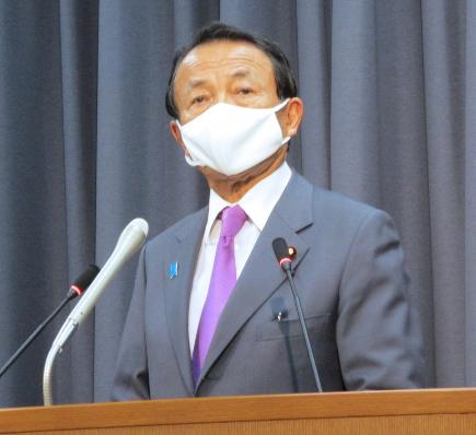 日本副首相称疫情死亡数差异源于国民素质不同 被批后强势回应