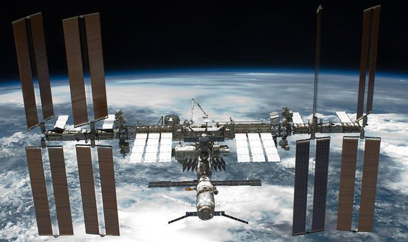 NASA's call with Mission Control after 'spotting five lights'byISS exposed