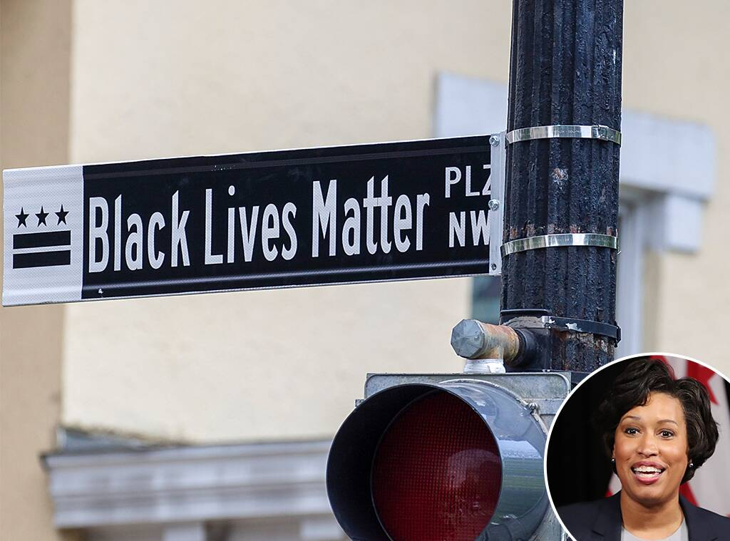 Washington, D.C. Mayor Muriel Bowser Changes Street Name to Black Lives Matter Plaza
