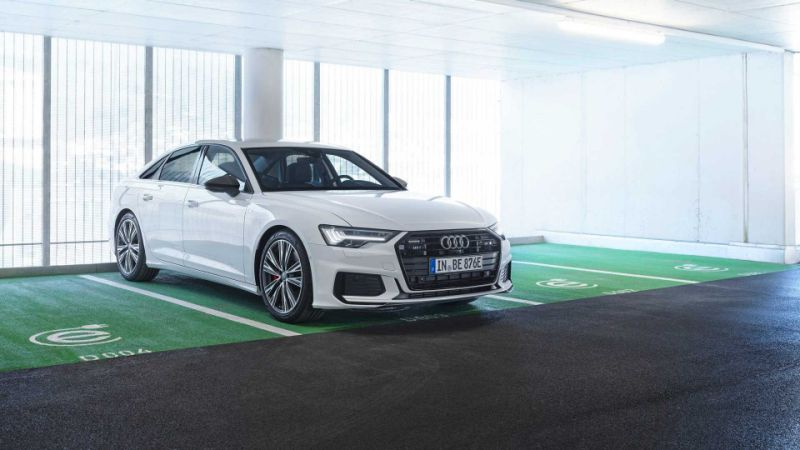 Audi's plug-in hybrid A6 goes on sale costing just under £53,000