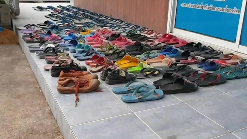 泰男子有严重的拖鞋恋物癖!2年内偷了126双拖鞋,就为了做这种龌蹉事!