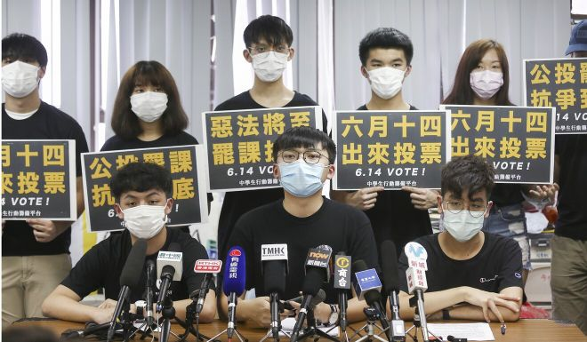 National security law: unions and student group threaten to strike as 'warning shot' to Beijing