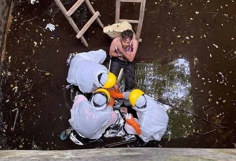 British man in bali rescued after 6 days trapped in well
