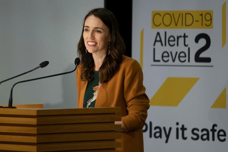Joyful PM Ardern declares New Zealand virus victory