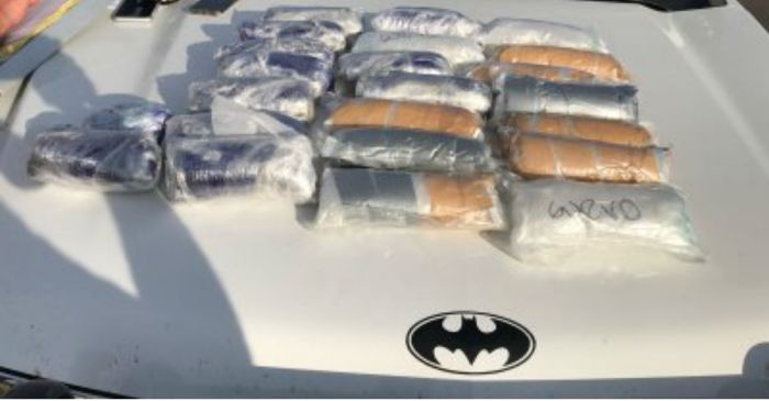 13-Year-old boy caught with 25 pounds of meth